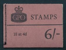 QP35 6/- GPO Machin booklet - Apr 1968 UNMOUNTED MINT/MNH