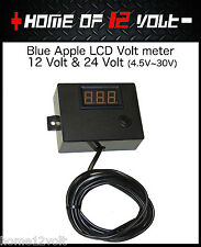 Thumper Volt meter 12 & 24 Volt perfect battery monitor Caravan camper trailer