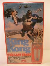 """KING KONG MODEL KIT 1976 """"THE LAST STAND"""" MEGO MINT FACTORY SEALED BOX"""