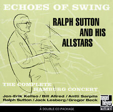 RALPH SUTTON AND HIS ALLSTARS Echoes Of Swing / Complete Hamburg Live 2 CD SET