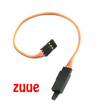 30CM JR SERVO LEAD EXTENSION WITH SECURITY HOOK 26AWG
