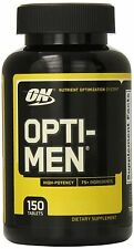 Optimum Nutrition OPTI-MEN MULTIVITAMINS 150 TABLETS