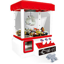 Electronic Claw Game Candy Grabber Machine Claw Arcade Game light & Music white