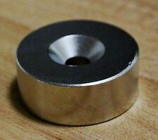 N52 Diameter 50mm x 20mm Round Neodymium Rare Earth Magnet D50 x 20 mm with Hole