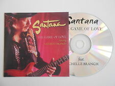 SANTANA : THE GAME OF LOVE feat. MICHELLE BRANCH [ CD PROMO ] ~ PORT GRATUIT