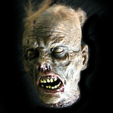 Lifesize Rotting Cut Off Zombie Head Halloween Party Haunted House Prop 10""