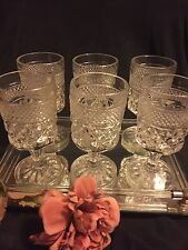 Vyg. Wexford 6 pc set Water Goblets 6 5/8 inch