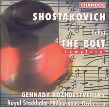 Shostakovich: The Bolt (Complete) (CD, Mar-1995, 2 Discs, Chandos)