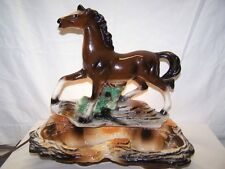 lane & co. vintage/deco horse tv lamp