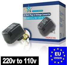 Step Down Voltage Converter 240V - 120V 110v 45W USA TO European EU PLUG