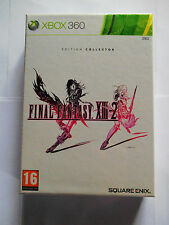 final fantasy XIII-2 13-2 xbox360 xbox 360 édition collector neuf sous blister
