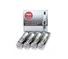 (SET OF 4) NGK 4644 / BKR7E V-Power Premium Copper Spark Plugs Made In Japan