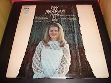 "Lynn Anderson Flower Of Love 12"" Vinyl Record Album LP SPC 3267 EX 1968"