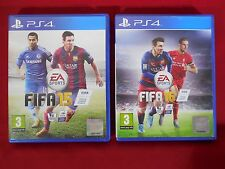 FIFA 15 + FIFA 16 Bundle - PlayStation 4 PS4 ~ Football games