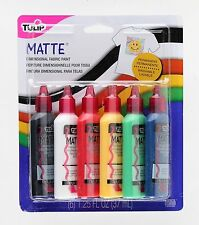 Tulip 15553 Dimensional Matte Fabric Paint,6-Pack (model number:15553) CXX