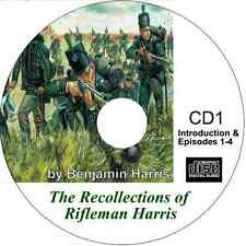 The Recollections of Rifleman Harris Audio on 4 CDs by Benjamin Harris