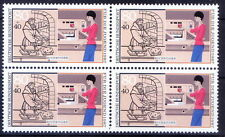 Germany 1987 MNH Blk 4, Professions, Book Binder, Education