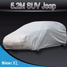 Waterproof UV Dust Rain Snow Resistant SUV Full Car Cover 4WD 4x4 Offroad Sport