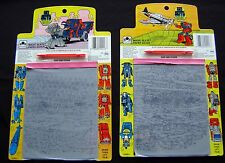 Vintage Gobots Magic Slate Lot 1985  Paper Saver Tonka Leader 1 Zod Traitor