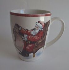 Pottery Barn  Painted Santa Claus Dinnerware Replacement Mug SOLD OUT AT PB #22