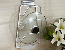 Alu Kitchen Hardware Cabinet Door Pot Pan Lid Holder Rack Organizer Storage