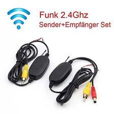 2,4GHz Wireless Funk Transmitter für Auto Rückfahrkamera Sender Empfänger
