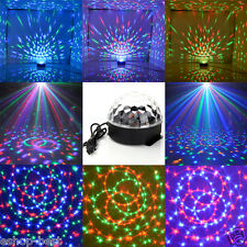 DJ Club Disco KTV Party Bar RGB Crystal LED Ball Projector Stage Effect Lig