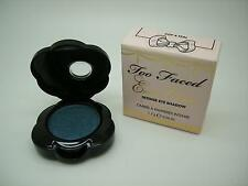 TOO FACED EXOTIC COLOR INTENSE EYE SHADOW COP A TEAL SHIMMER, FULL SIZE 1.7 G
