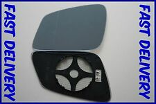 BMW 6 GRAN COUPE F06 2010+ WING MIRROR GLASS BLUE WIDE ANGLE HEATED LEFT