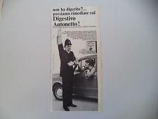 advertising Pubblicità 1967 DIGESTIVO ANTONETTO