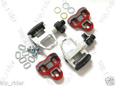 Wellgo QRD R096B Road Bicycle Bike Pedals Silver
