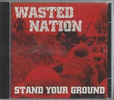 WASTED NATION - STAND YOUR GROUND - (still sealed cd) - MAD-INT CD001