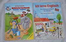 lot of 2 books-LEARN ENGLISH in GERMAN LANGUAGE (b 27)