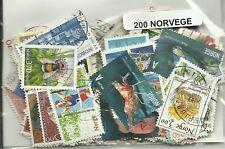 Lot timbres de Norvege