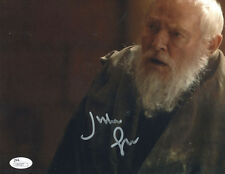 """JULIAN GLOVER Signed 8X10 """"Game of Thrones"""" Photo with a JSA (James Spence) COA"""