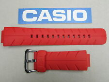 Genuine Casio G-Shock G-300C-4 watch band strap red resin rubber 16mm
