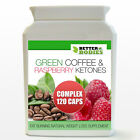 Raspberry Ketones Green Coffee Bean Extract Complex Weight Loss Slimming Pills