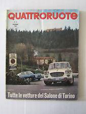 QUATTRORUOTE DICEMBRE 1965 / ANNO X / NUMERO 120  - LEGGI