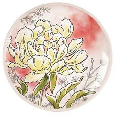 Maxwell & Williams Savannah Yellow Peony Accent Plate-Blooming