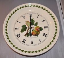 PORTMEIRION POMONA WALL CLOCK Leinton Squash Pear TESTED