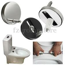 UNIVERSAL PAIR OF TOP FIX WC TOILET SEAT HINGE FITTINGS QUICK RELEASE HINGES