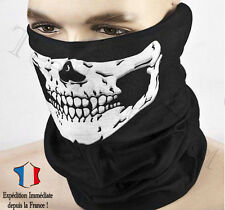 Masque Tour de Cou Tête de Mort Ghost Skull bandana Moto Ski Paintball Snow