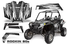 POLARIS RZR 900 XP 900XP & PRO ARMOR DOOR GRAPHICS KIT CREATORX ROCKIN 80s B