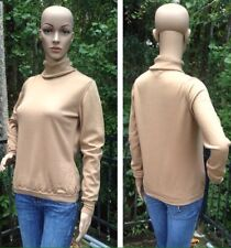 BURBERRY LONDON Womens Size Medium Merino Wool Italian Made Turtleneck Sweater