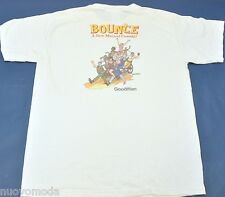 Vintage BOUNCE The Comedy Musical at The Goodman Theatre T-Shirt Size L