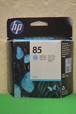HP 85 LIGHT CIANO ORIGINALE INCHIOSTRO C9428A DESIGNJET 30 90 130 Data 2015
