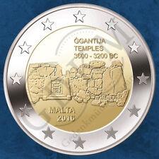 Malta - UNESCO Tempel von Ġgantija - 2 Euro 2016 unc. - SOFORT
