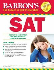 Barron's SAT by Sharon Weiner Green M.A. and Ira K. Wolf  26th edition (2012)