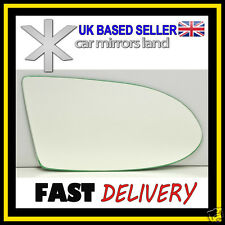 Right Driver Wing Mirror Glass CONVEX Vauxhall Zafira A 1999-2005