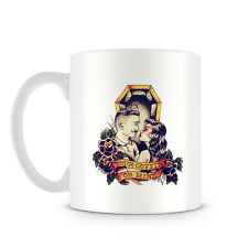 Your Coffin or Mine Flash Tattoo Grunge Hipster Quote Love Flowers Mug